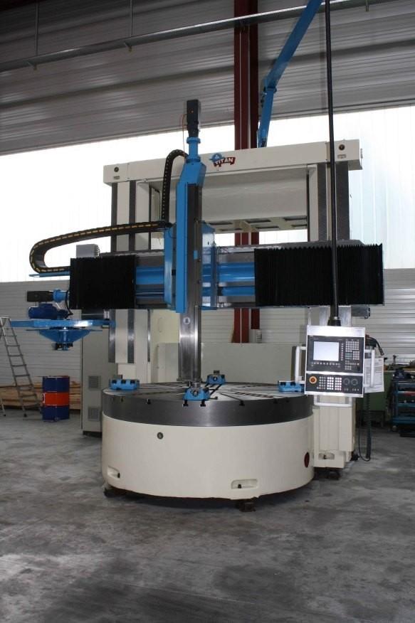 Karusselldrehmaschine WALDRICH COBURG VTM 2500 | Pesch Machines